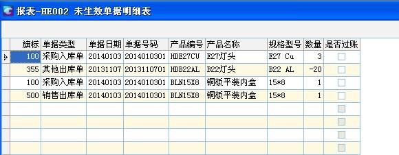 SMB中设置自定义报表快速查找未复核单据